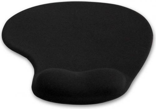 Podkładka 4World żelowa czarna (10099)