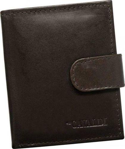 4U Cavaldi Mały portfel Cavaldi skórzany dla meżczyzny uniwersalny