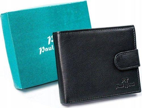 PELLUCCI Skórzany portfel skórzany, poziomy, składany na zatrzask Paul Rossi uniwersalny