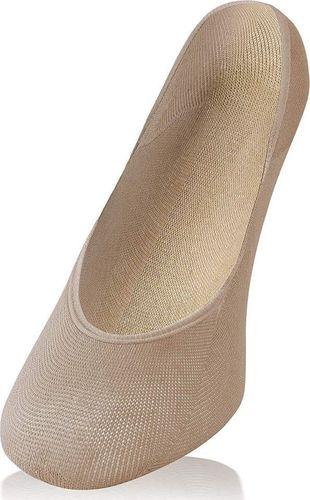 Sesto Senso Niewidoczne bawełniane balerinki Sesto Senso 38-40