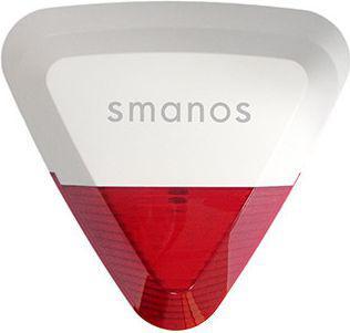 Smanos Wireless Stroboskop Zewnętrzna Syrena Alarmowa SS2800