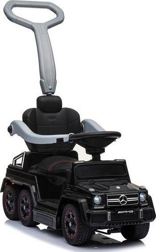 LEAN Sport Jeździk z pchaczem Mercedes 6x6 czarny (SX1838)