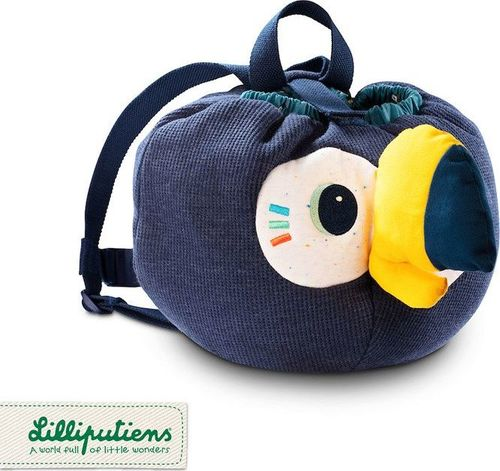 Lilliputiens LILLIPUTIENS Plecak - worek pluszowy Tukan Pablo