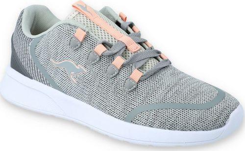 Kangaroos Sneakersy dziewczęce KangaROOS 18318 szary 35