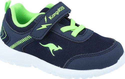 Kangaroos Sneakersy chłopięce KangaROOS 02050 granatowy 22