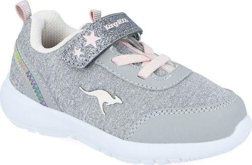 Kangaroos Sneakersy dziewczęce KangaROOS 02051 szary 22