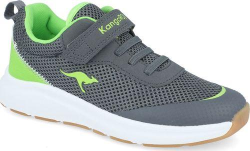 Kangaroos Sneakersy chłopięce KangaROOS 18507 szary 32