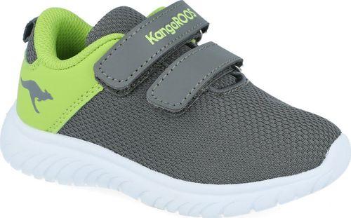 Kangaroos Sneakersy chłopięce KangaROOS 02056 szary 22
