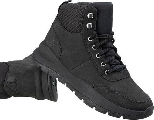Timberland Buty Sneaker Boot Nero Pelle czarne r. 44.5 (A27WM)