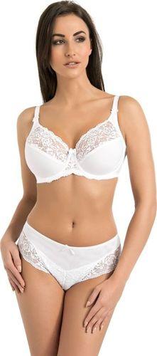 Teyli Biustonosz damski koronkowy miękki Victoria biały Biały 65K