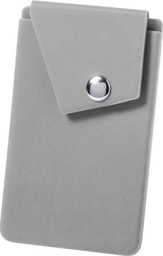 Kemer Etui na karty kredytowe KEMER, stojak na telefon Szare uniwersalny
