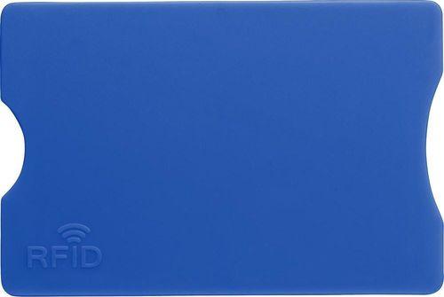 Kemer Etui na kartę kredytową KEMER, ochrona przed RFID Niebieskie uniwersalny