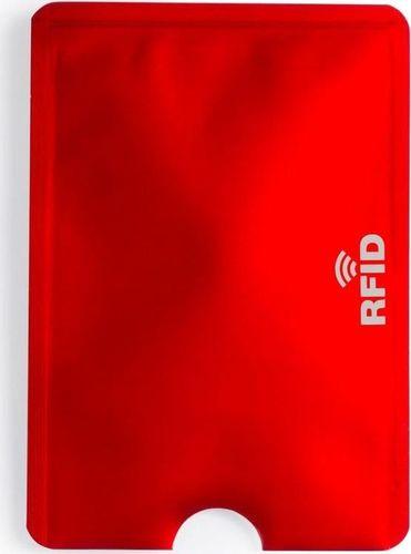Kemer Etui na kartę kredytową KEMER, ochrona przed RFID Czerwone uniwersalny