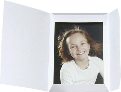 Daiber Etui portretowe, Sprint-Line 13x18 bialy, 100 sztuk (09032)