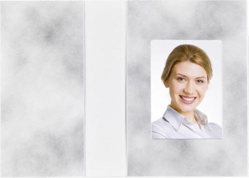 Daiber Etui paszportowe motyw chmury, 36x50 mm, 100 sztuk (1151)