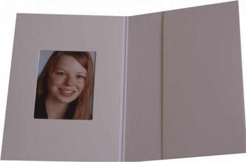 Daiber Etui paszportowe chromolux bialy 31x42 mm, 100sztuk (2411)