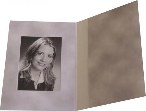 Daiber Etui na zdjecia paszportowe, szary, 45x65 mm, 100 sztuk (2710)