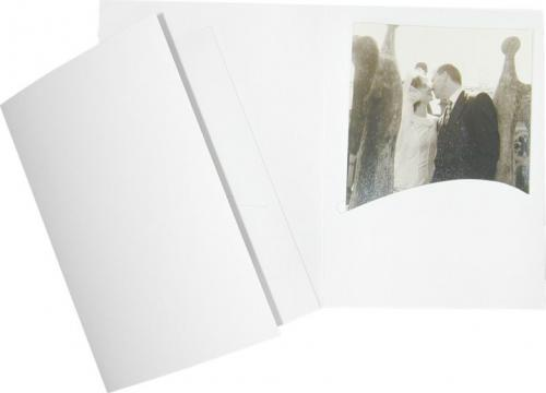 """Daiber Etui portretowe """"Profi-Line"""" 13x18 bialy matowy, 100 sztuk  (508)"""