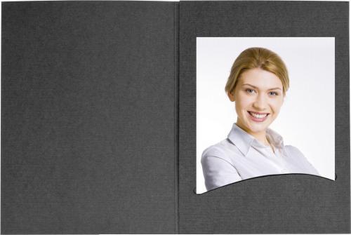 """Daiber Etui paszportowe """"Profi-Line"""" do 7x10 cm czarny, 100sztuk  (14034)"""