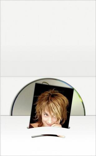 Daiber koperta z kieszenia na CD + zdjecie do 6x9 cm biala, 100 sztuk  (06612)