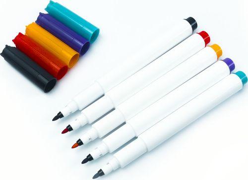 PremiumAd Zestaw 5 markerów suchościeralnych supercienkich