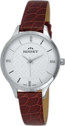 Zegarek Bisset Damski zegarek BSAE58 Cyrkonie (9567)