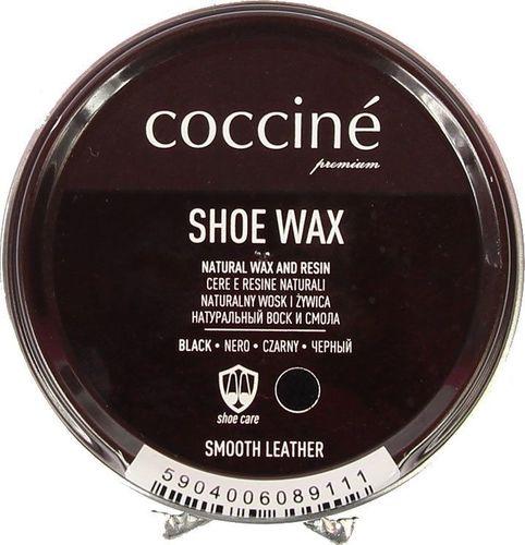 Coccine COCCINE czarna pasta wosk i żywica do skór licowych uniwersalny