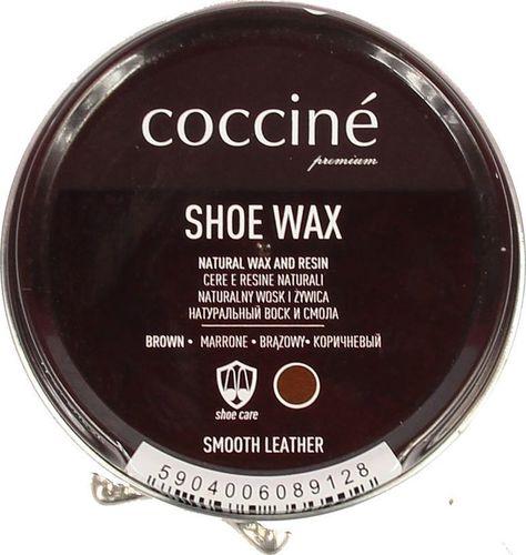 Coccine COCCINE brązowa pasta wosk i żywica do skór licowych uniwersalny