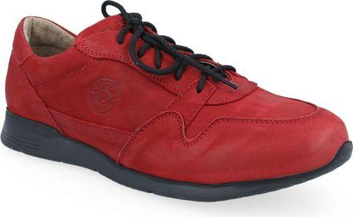 Lesta Półbuty Lesta 4345 czerwony casual 45