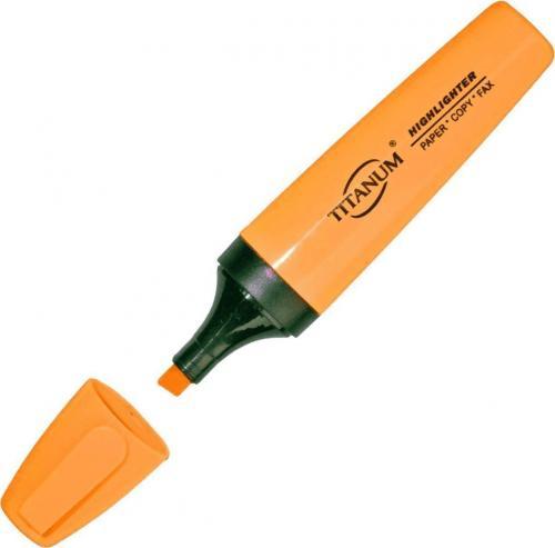 Titanum Zakreślacz pomarańczowy