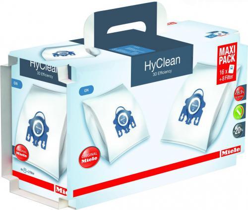 Miele Worki do odkurzacza Maxipack G/N HyClean 3D Efficiency, 4 opakowania