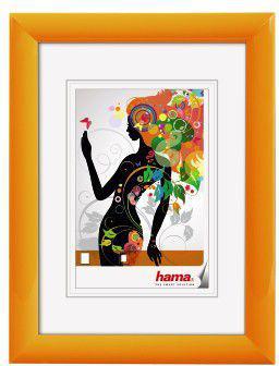 Ramka Hama Malaga 20x30, plastikowa, pomarańczowy (58141)