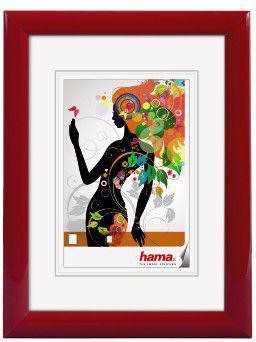 Ramka Hama Malaga 15x20, plastikowa, czerwona (58134)
