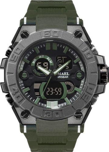 Zegarek Naviforce profesjonalny ZEGAREK MĘSKI Wojskowy MILITARNY Wodoodporny 50M 8003SZ szary