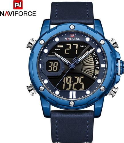 Zegarek Naviforce ZEGAREK MĘSKI WOJSKOWY NAVIFORCE NF9172L-BEBE