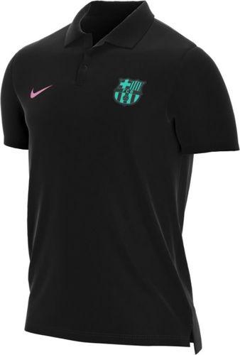 Nike Koszulka polo FC Barcelona czarna r. M