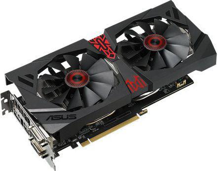 Karta graficzna Asus R9 380 OC 2GB GDDR5 (256 bit) HDMI, 2x DVI, DP (STRIX-R9380-DC2OC-2GD5-GAMING)
