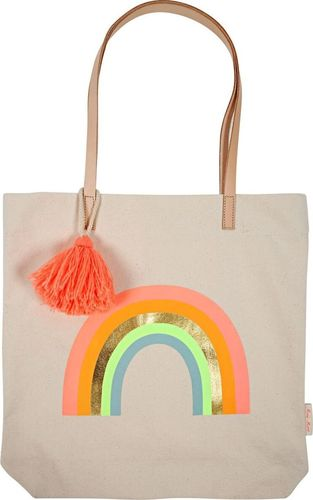 Meri Meri Meri Meri – Canvas Rainbow Tote Bag