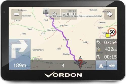 Nawigacja GPS Vordon VOR-5