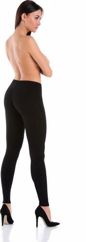 Teyli Legginsy sportowe bawełniane Push Up czarne Czarny XL