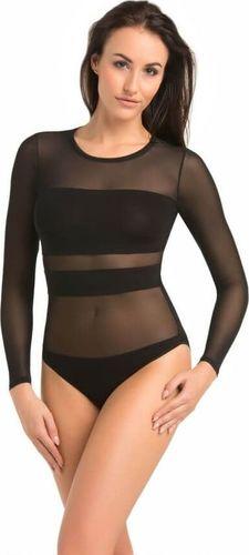 Teyli Body Damskie Stripy czarne Czarny XS