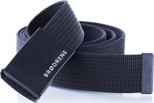 Brdrene Męski mocny parciany pasek do spodni BRDRENE P01 Długość: 100 cm uniwersalny