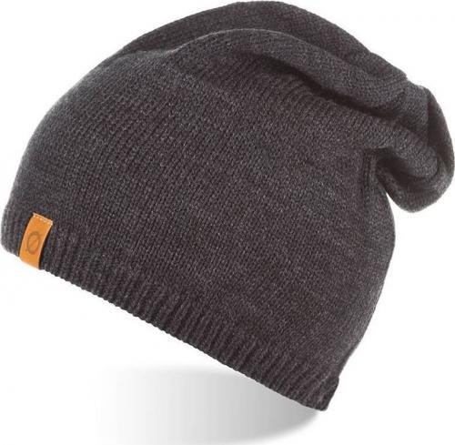 Brdrene Zimowa czapka z polarem BRDRENE CZ2 ciemnoszara uniwersalny