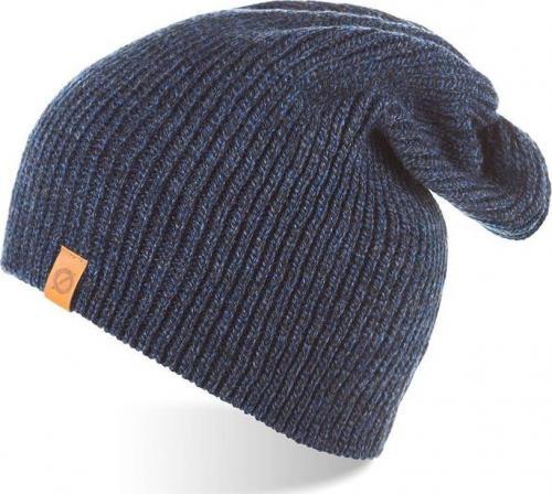 Brdrene Zimowa czapka smerfetka beanie BRDRENE CZ7 granatowa mulina uniwersalny