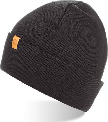 Brdrene Zawijana czapka zimowa BRDRENE CZ6 czarna uniwersalny