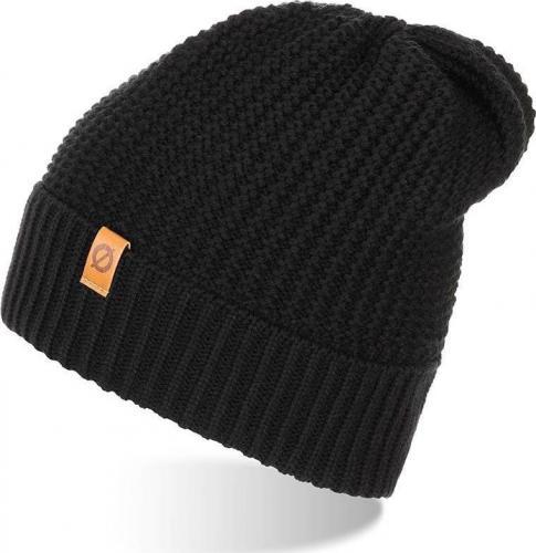 Brdrene Stylowa zimowa czapka męska czarna CZ14 BRDRENE uniwersalny