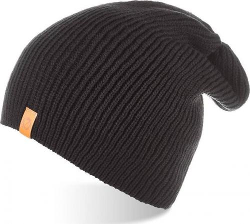 Brdrene Męska zimowa czapka smerfetka BRDRENE CZ7 czarna uniwersalny