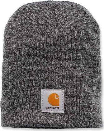Carhartt Czapka Carhartt Acrylic Knit Hat grey / coal heather