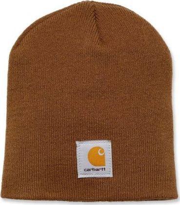 Carhartt Czapka Carhartt Acrylic Knit Hat brown