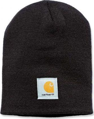 Carhartt Czapka Carhartt Acrylic Knit Hat black